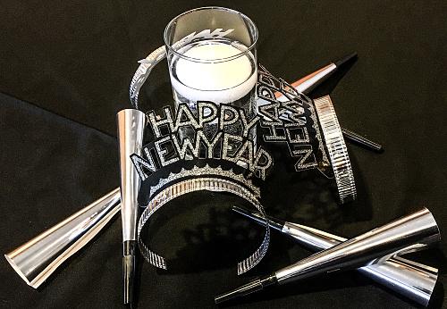 お正月「New Years decorations」:スマホ壁紙(8)