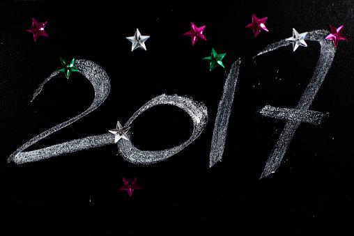 カレンダー「New Years Day written on the blackboard. Debica, Poland」:スマホ壁紙(8)