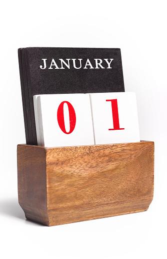New Year「New Years Day Calendar」:スマホ壁紙(13)