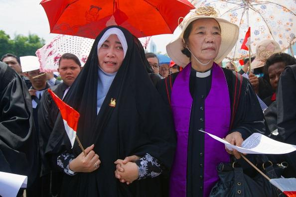 Patience「Demonstration For Religious Tolerance In Jakarta」:写真・画像(1)[壁紙.com]