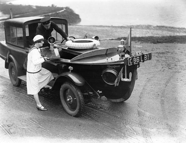 Bizarre Vehicle「Motorboat Car」:写真・画像(1)[壁紙.com]