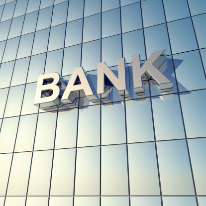 Bank - Financial Building「Glass front of a bank building」:スマホ壁紙(13)