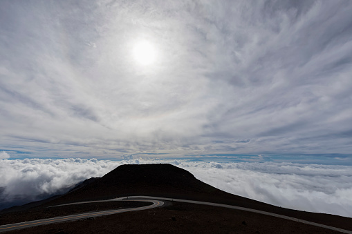 Haleakala National Park「View from Red Hill, Haleakala National Park, Maui, Hawaii, USA」:スマホ壁紙(8)