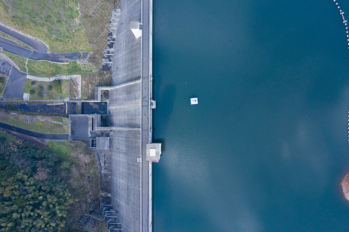 Satoyama - Scenery「There are plenty of water in the water storage facility」:スマホ壁紙(17)