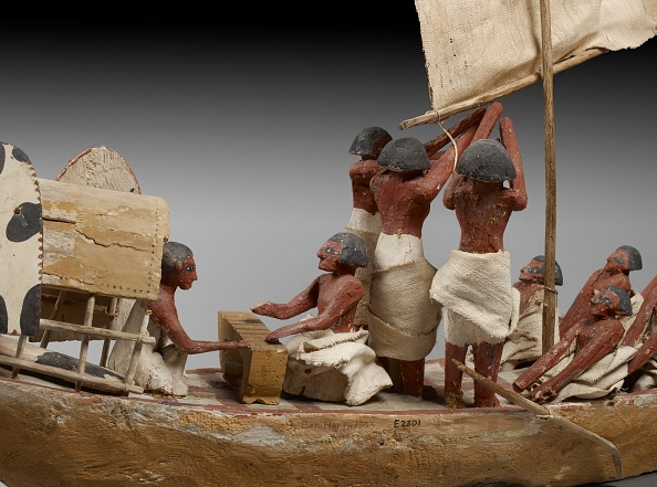 Ancient Egyptian Culture「Model Of Boat」:写真・画像(10)[壁紙.com]