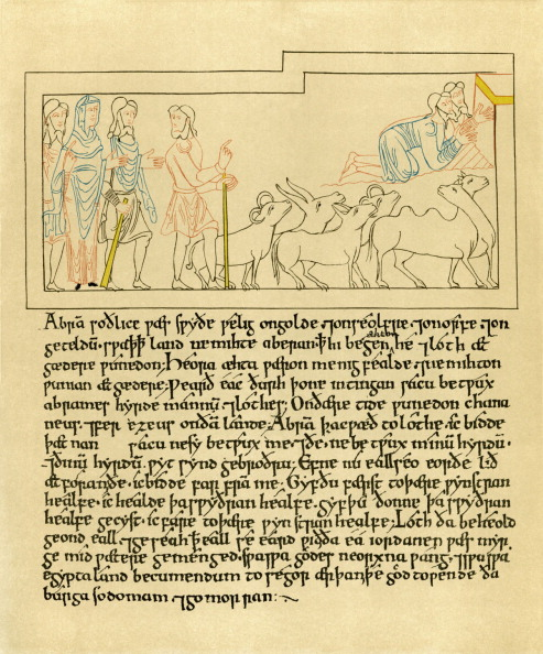 Manuscript「The Old English Illustrated Hexateuch」:写真・画像(18)[壁紙.com]