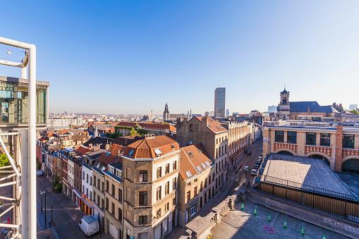 ブリュッセル首都圏地域「Belgium, Brussels, City district Marolles and city centre」:スマホ壁紙(15)