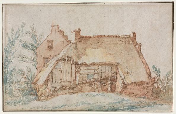Utrecht「Peasants Cottage (Recto); Bridge And Gate (Verso) ,」:写真・画像(18)[壁紙.com]
