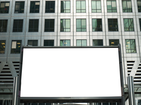 Sign「Blank Advertising Billboard, London, UK」:スマホ壁紙(7)