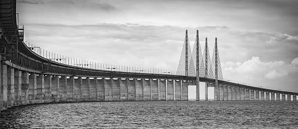 Bridge between Sweden and Denmark:スマホ壁紙(壁紙.com)