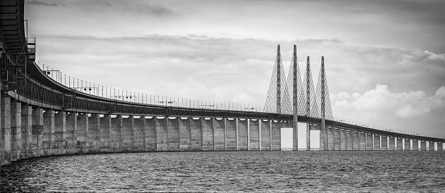 Copenhagen「Bridge between Sweden and Denmark」:スマホ壁紙(16)