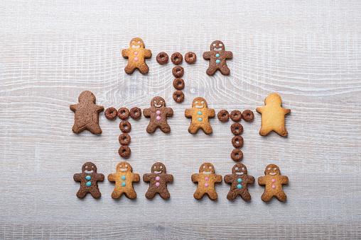 Family Tree「Human family tree made with cookies」:スマホ壁紙(0)