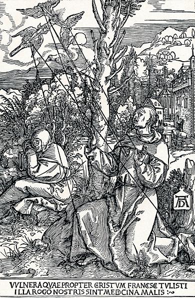 Miracle「'St Francis Receiving the Stigmata', 1504 (1906). Artist: Albrecht Durer.」:写真・画像(0)[壁紙.com]