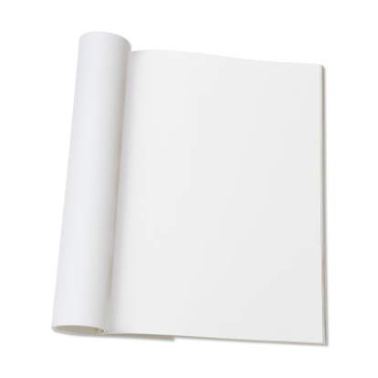 Square「Blank page of magazine」:スマホ壁紙(3)