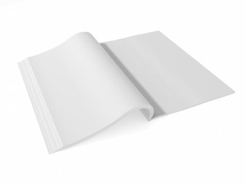 ノート柄「ブランクページ』紙ご予約の分離に白背景」:スマホ壁紙(9)