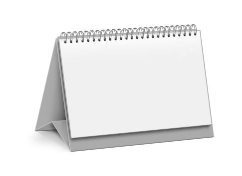 カレンダー「白紙ページのデスクトップカレンダー」:スマホ壁紙(14)