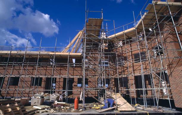 property development with scaffolding:ニュース(壁紙.com)
