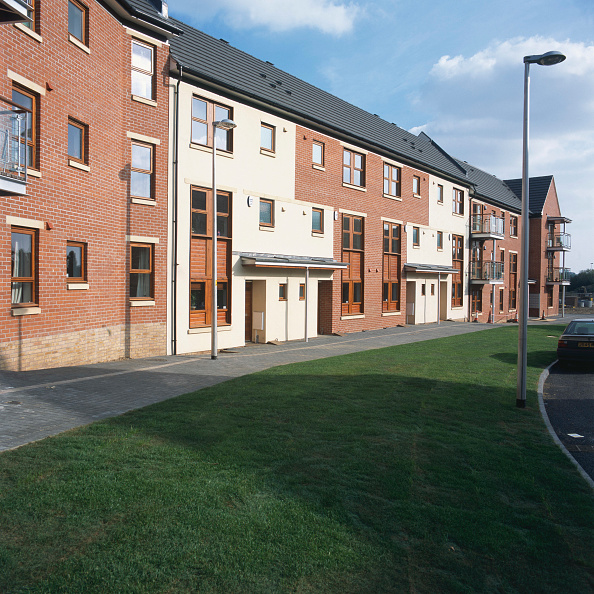 New「Property development. A large number of new houses are built all over the UK.」:写真・画像(1)[壁紙.com]