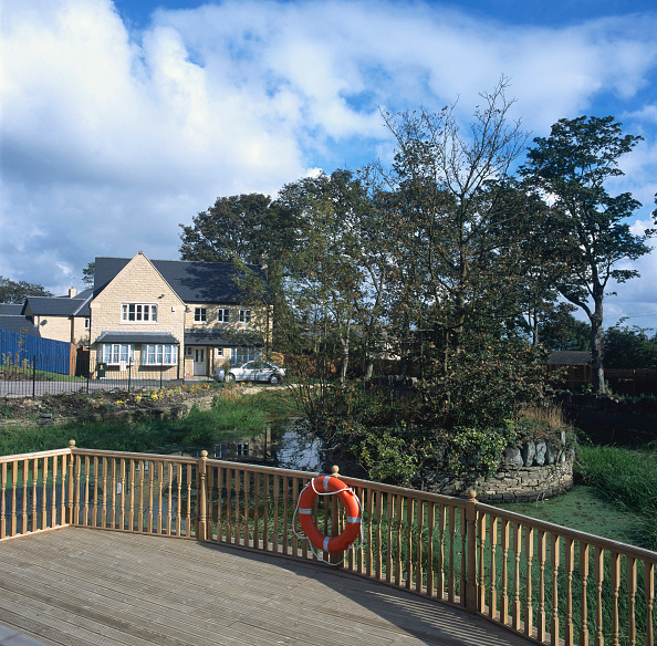 Tradition「Property development. A large number of new houses are built all over the UK.」:写真・画像(7)[壁紙.com]