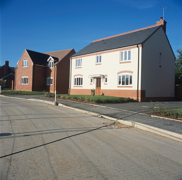 Tradition「Property development. A large number of new houses are built all over the UK.」:写真・画像(6)[壁紙.com]