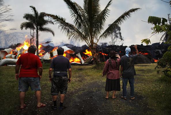 Hawaii Islands「Hawaii's Kilauea Volcano Erupts Forcing Evacuations」:写真・画像(11)[壁紙.com]