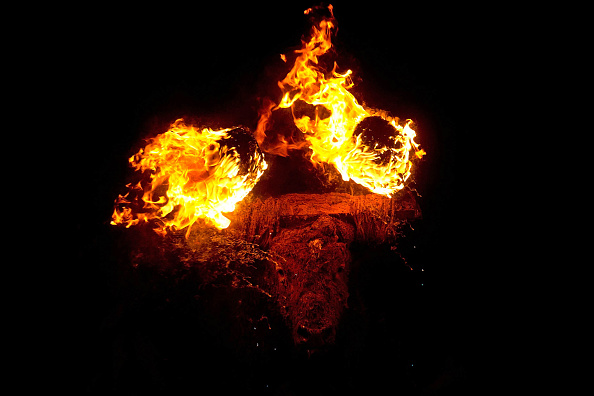 "Bull - Animal「Fire Bull Festival Known as ""Toro de Jubilo""」:写真・画像(0)[壁紙.com]"