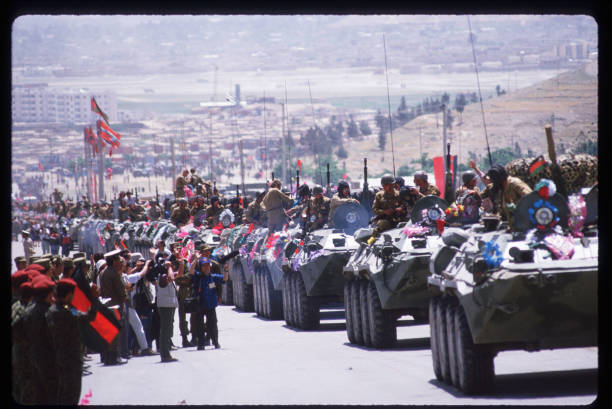 Soviet Troops Leave Afghanistan:ニュース(壁紙.com)