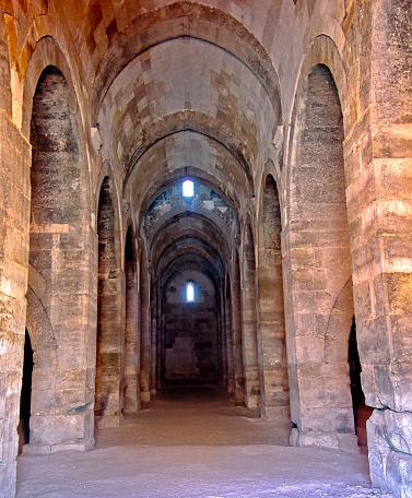 Built Structure「Sultanhani  Caravansary Interior Arches」:スマホ壁紙(1)