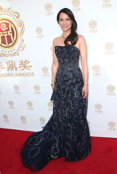 Strapless Dress「2014 Huading Film Awards - Arrivals」:写真・画像(5)[壁紙.com]