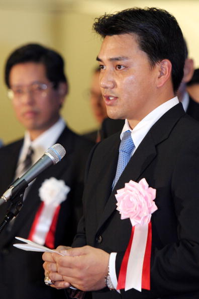 Tadahito Iguchi「Tadahito Iguchi of the Chicago White Sox attends the closing session of the year 2006」:写真・画像(0)[壁紙.com]