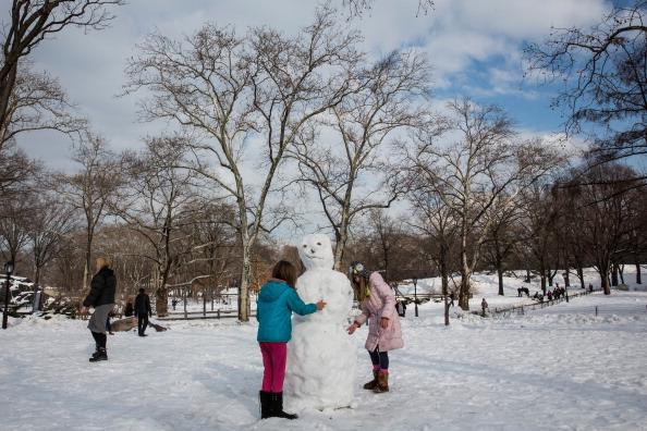 雪だるま「New York City Hit With More Snow」:写真・画像(6)[壁紙.com]