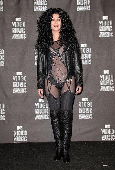 Leather Jacket「2010 MTV Video Music Awards - Press Room」:写真・画像(3)[壁紙.com]