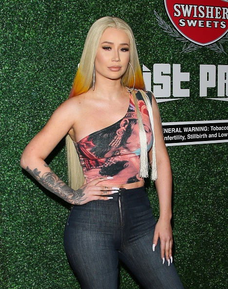 "Iggy Azalea「Swisher Sweets Awards Cardi B With The 2019 ""Spark Award""」:写真・画像(0)[壁紙.com]"