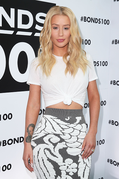 イギー・アゼリア「Bonds Celebrate 100 Years With Iggy Azalea And Pat Rafter」:写真・画像(3)[壁紙.com]