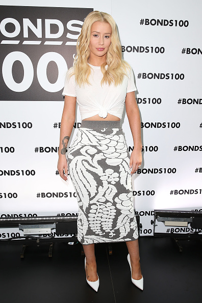 イギー・アゼリア「Bonds Celebrate 100 Years With Iggy Azalea And Pat Rafter」:写真・画像(14)[壁紙.com]