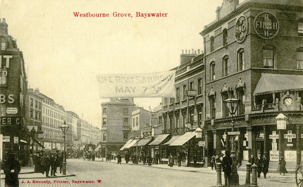 Grove「Westbourne Grove, Bayswater, London c.1905」:写真・画像(17)[壁紙.com]