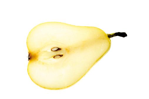Pear「Half a pear」:スマホ壁紙(19)