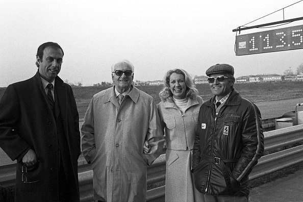 Motor Racing Track「Enzo Ferrari, Giulio Borsari, Joan Cahier」:写真・画像(2)[壁紙.com]