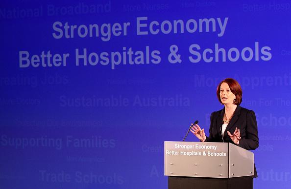 Australian Labor Party「Australian Labor Party Campaign Launch 2010」:写真・画像(12)[壁紙.com]