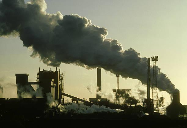 pollution: ici wilton works  petrochemical factories  teeside. uk:スマホ壁紙(壁紙.com)