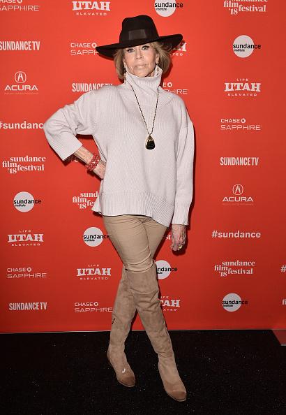 "Sundance Film Festival「2018 Sundance Film Festival - ""Jane Fonda In Five Acts"" Premiere」:写真・画像(4)[壁紙.com]"