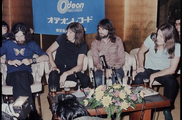 Press Room「Pink Floyd At Press Conference」:写真・画像(1)[壁紙.com]