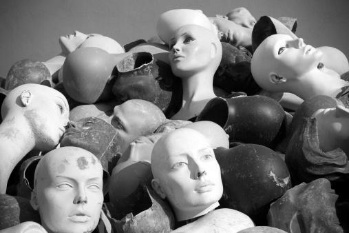 女性モデル「Mannequins ヘッドます。」:スマホ壁紙(6)