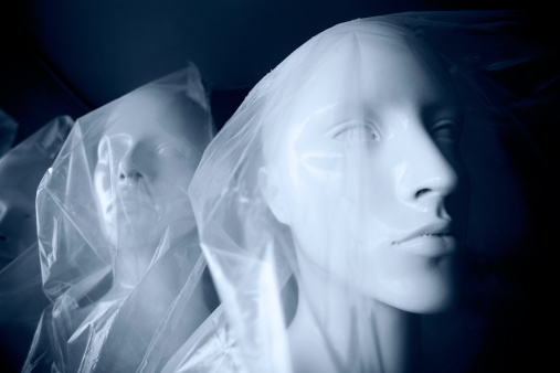 女性モデル「Mannequins カバーナイロン。」:スマホ壁紙(3)