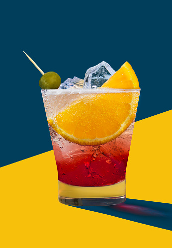 Cocktail「Negroni」:スマホ壁紙(17)