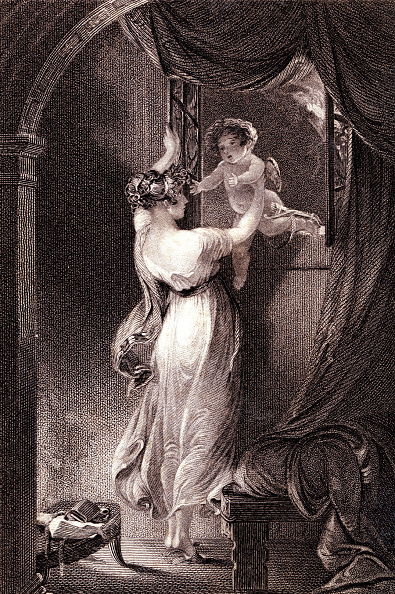 Engraving「Love sheltered by Frederick Tyrrell」:写真・画像(14)[壁紙.com]