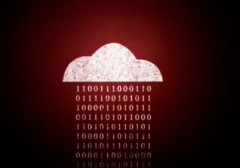 Binary Code「Cloud computing」:スマホ壁紙(14)