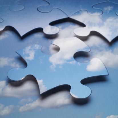 Cloud Storage「Cloud computing or storage puzzle」:スマホ壁紙(13)