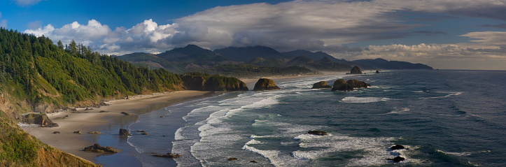 Ecola State Park「Pacific Coastline from Ecola State Park near Cannon Beach」:スマホ壁紙(14)