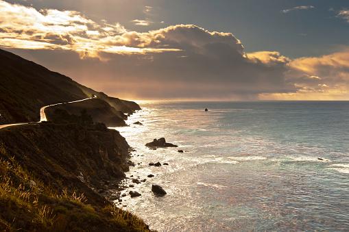 Big Sur「Pacific Coast Highway」:スマホ壁紙(3)